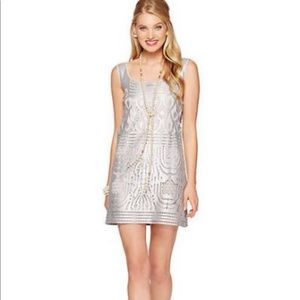Lilly Pulitzer | Arlington Foiled Lace Shift Dres